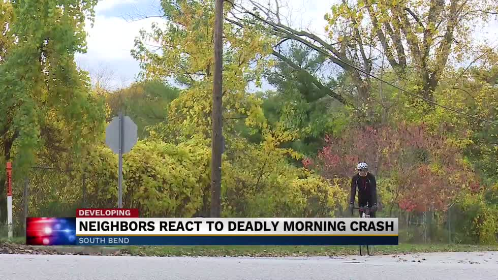 Neighbors react to 3 students hit in tragic accident